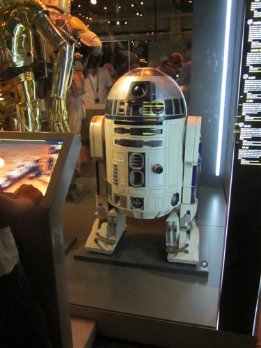 R2D2 at the Star Wars Identities exhibit