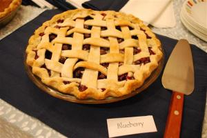 Best Blueberry Pie Ever
