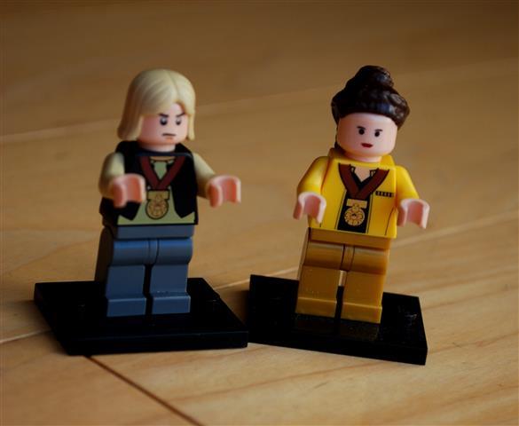 Lego Peeta and Katniss
