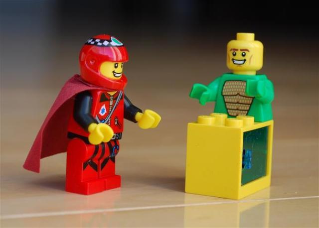 LEGO Magneto and Professor X