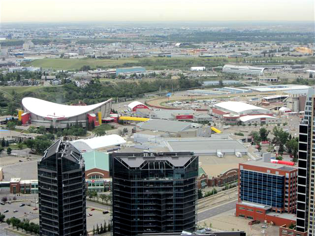 105_ViewSouth_Saddledome-StampedeGrounds