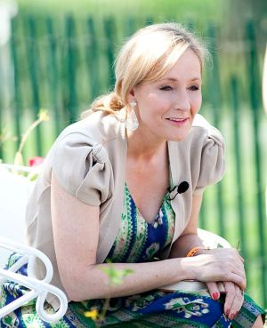It's J.K. Rowling! Photo courtesy of Wikimedia Commons.