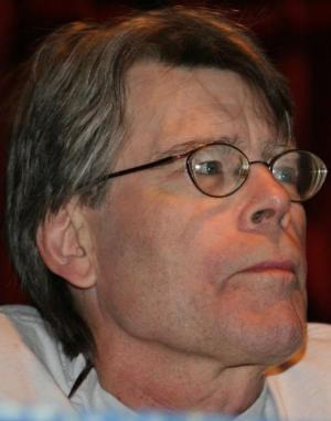 It's Stephen King! Photo courtesy of Wikimedia Commons.