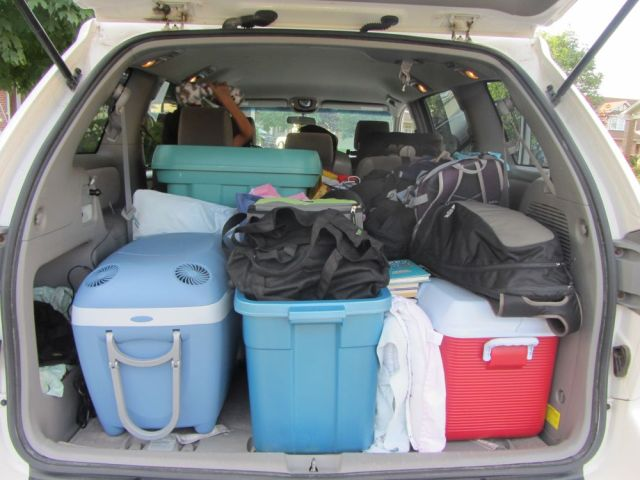 Packed up for PEI.